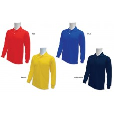 Senior Long Sleeves Collar T-Shirt (ESP2004)