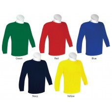 Junior Long Sleeve Round Neck T-Shirt (ESP2006)