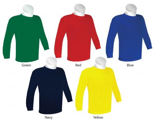 Junior Long Sleeve Round Neck T-Shirt (ESP2006)