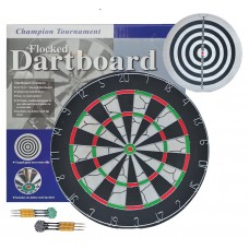 Flocked Dartboard