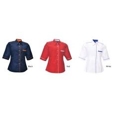 Corporate Uniform - Lady 3/4 Sleeve (U01-3)