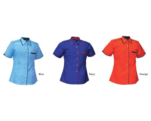 Corporate Uniform - Lady Short Sleeve (U03-2)