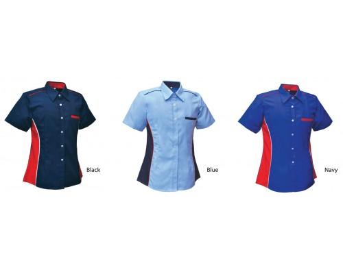 Corporate Uniform - Lady Short Sleeve (U04-2)
